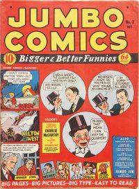 Large Thumbnail For Jumbo Comics #2
