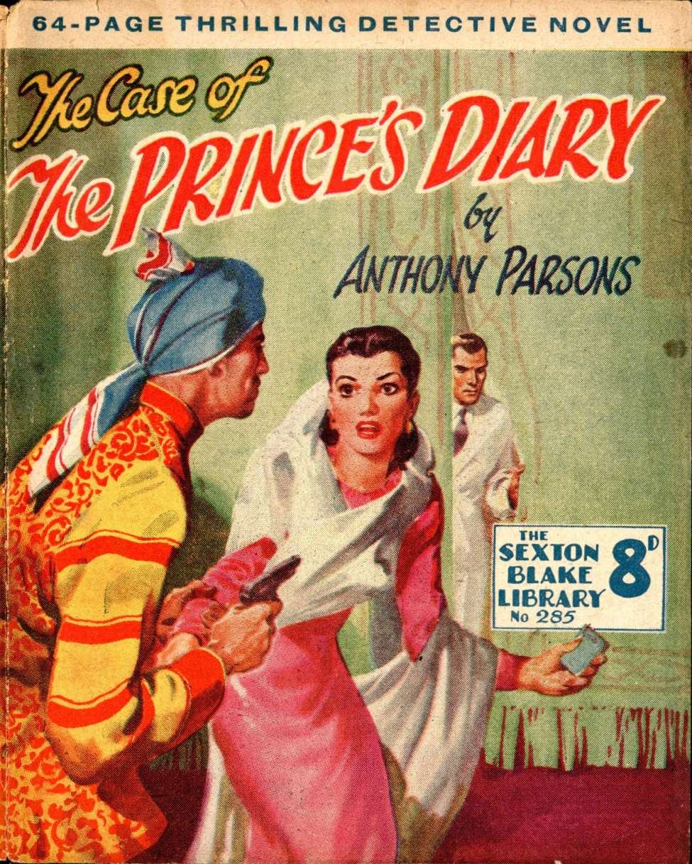 Comic Book Cover For Sexton Blake Library S3 285 - The Prince's Diary