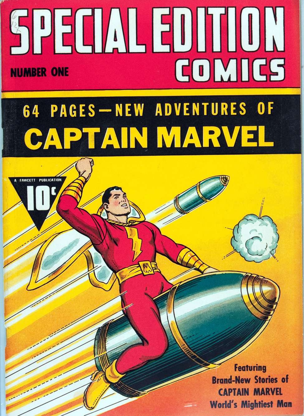 Comic Book Cover For Special Edition Comics #1