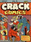 Cover For Crack Comics 3