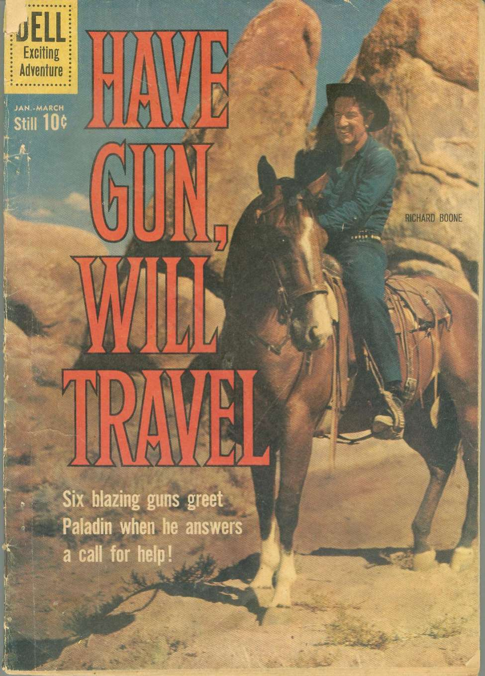 Comic Book Cover For Have Gun, Will Travel #8