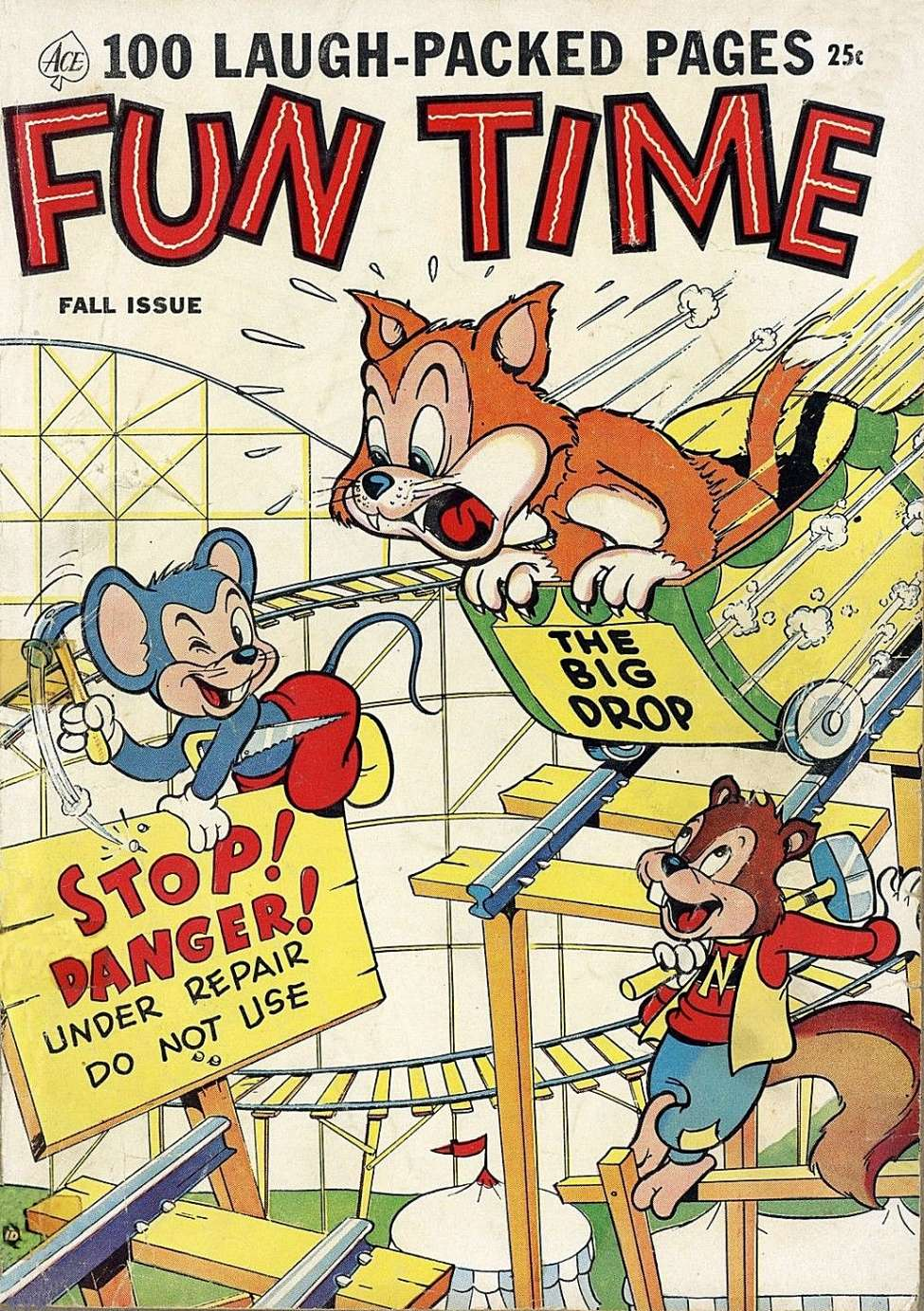 Comic Book Cover For Fun Time #3