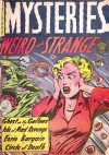 Cover For Mysteries Weird and Strange 4