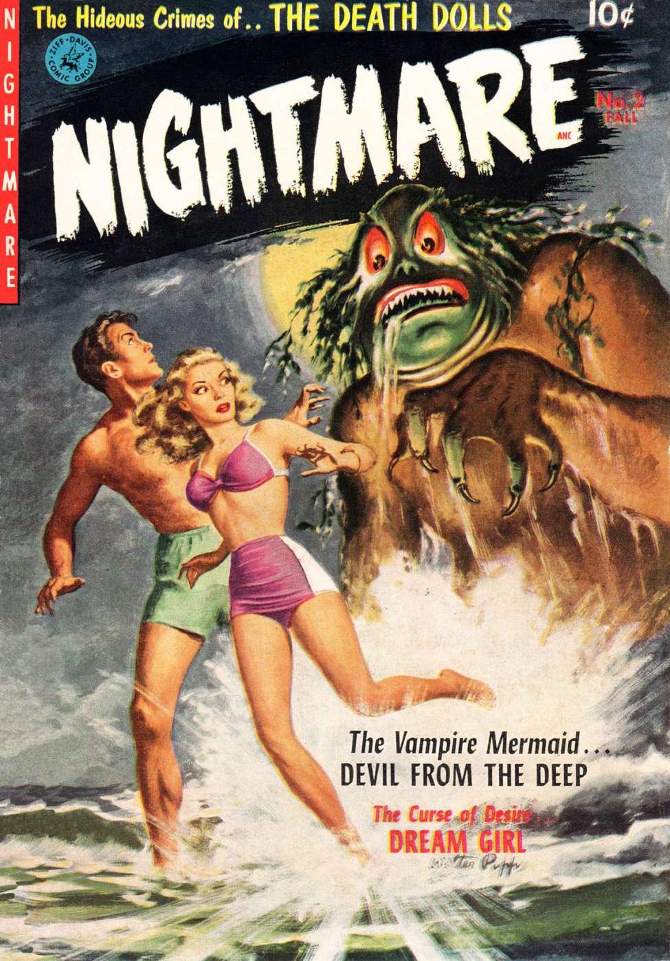 Comic Book Cover For Nightmare #2