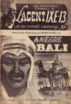 Cover For L'Agent IXE 13 v2 61 Le nègre Bali