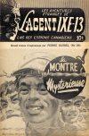 Cover For L'Agent IXE 13 v2 158 La montre mystérieuse