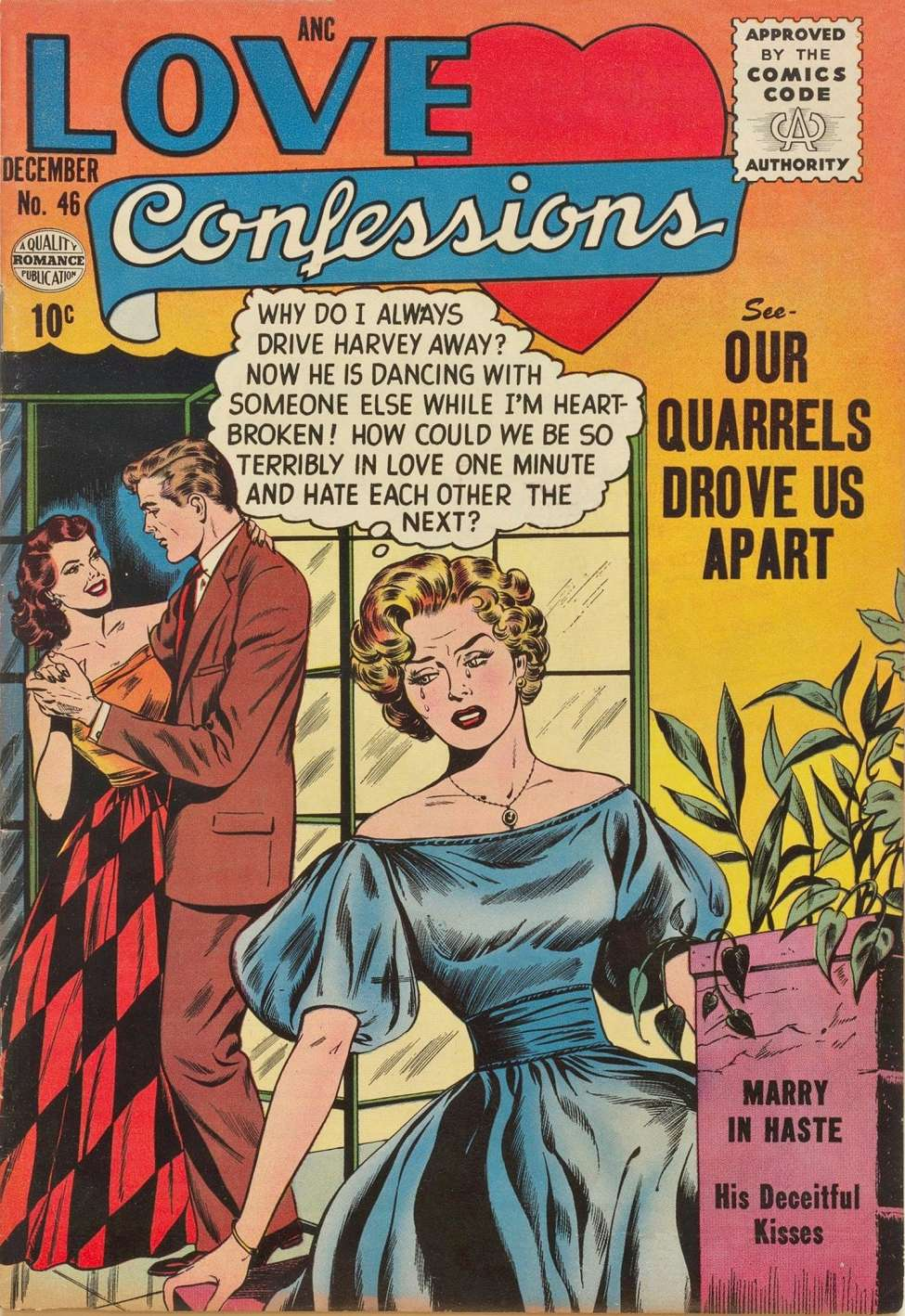 Comic Book Cover For Love Confessions 46