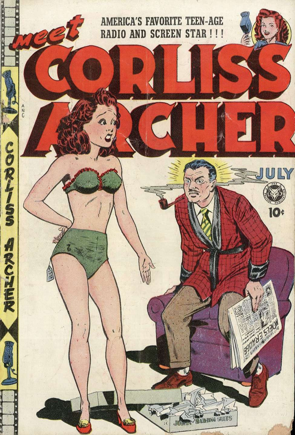Comic Book Cover For Meet Corliss Archer #3
