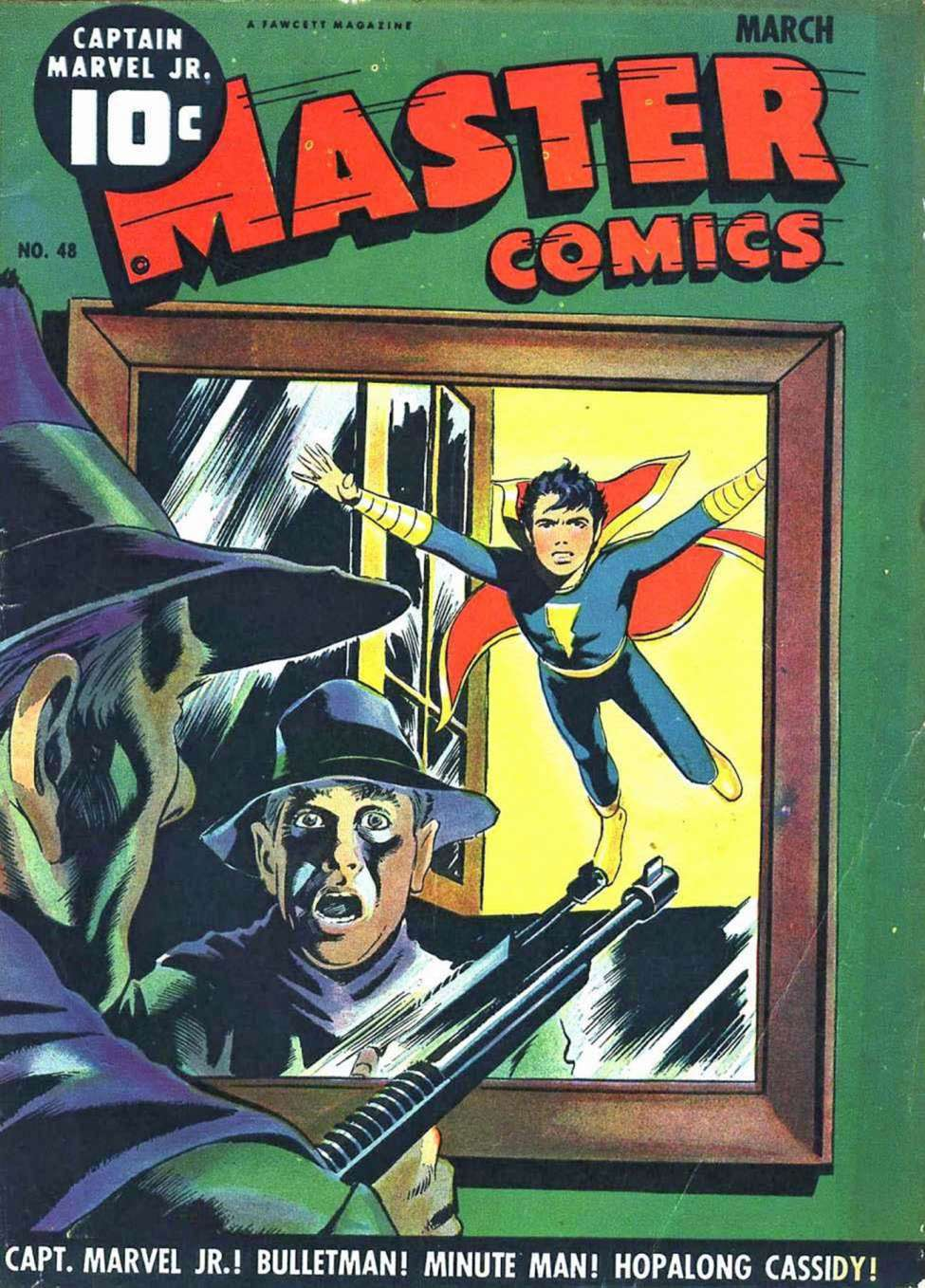 Comic Book Cover For Capt. Marvel Jnr Compilation Vol 06