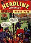 Cover For Headline Comics 31