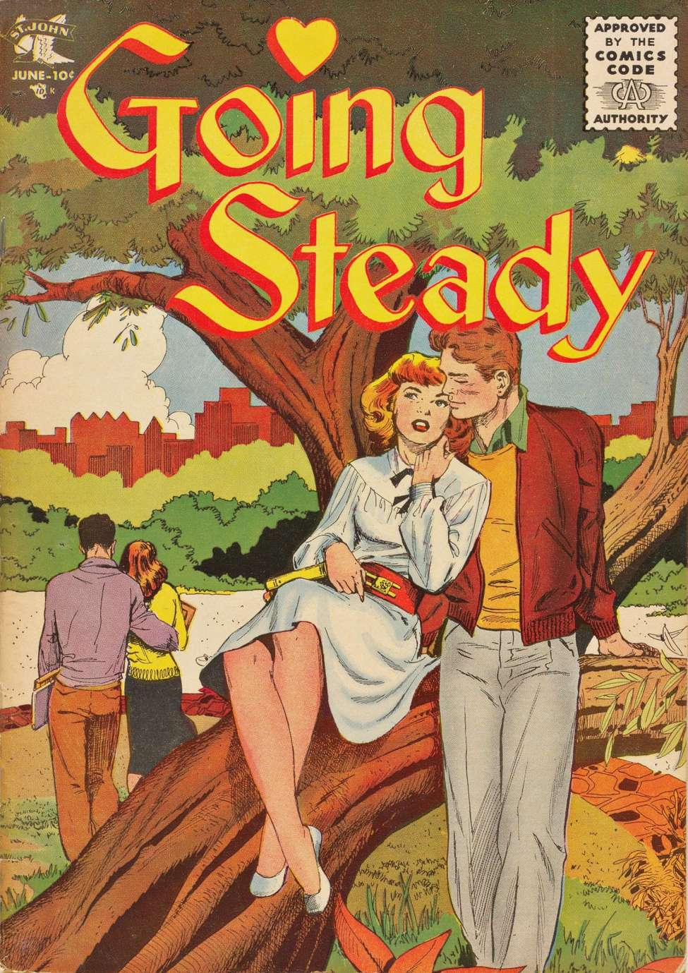 Comic Book Cover For Going Steady #13