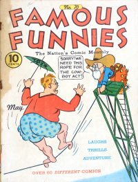Large Thumbnail For Famous Funnies #70