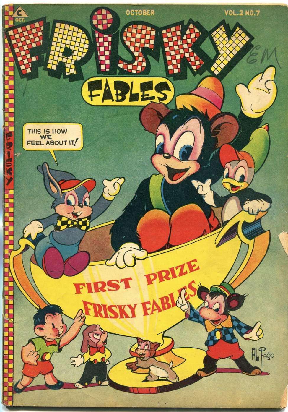 Comic Book Cover For Frisky Fables v2 7 [10]