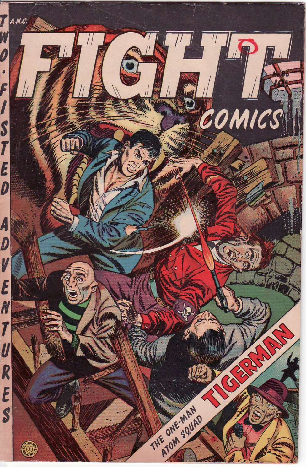 Comic Book Cover For Fight Comics #86