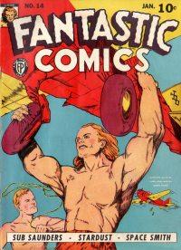 Large Thumbnail For Fantastic Comics #14