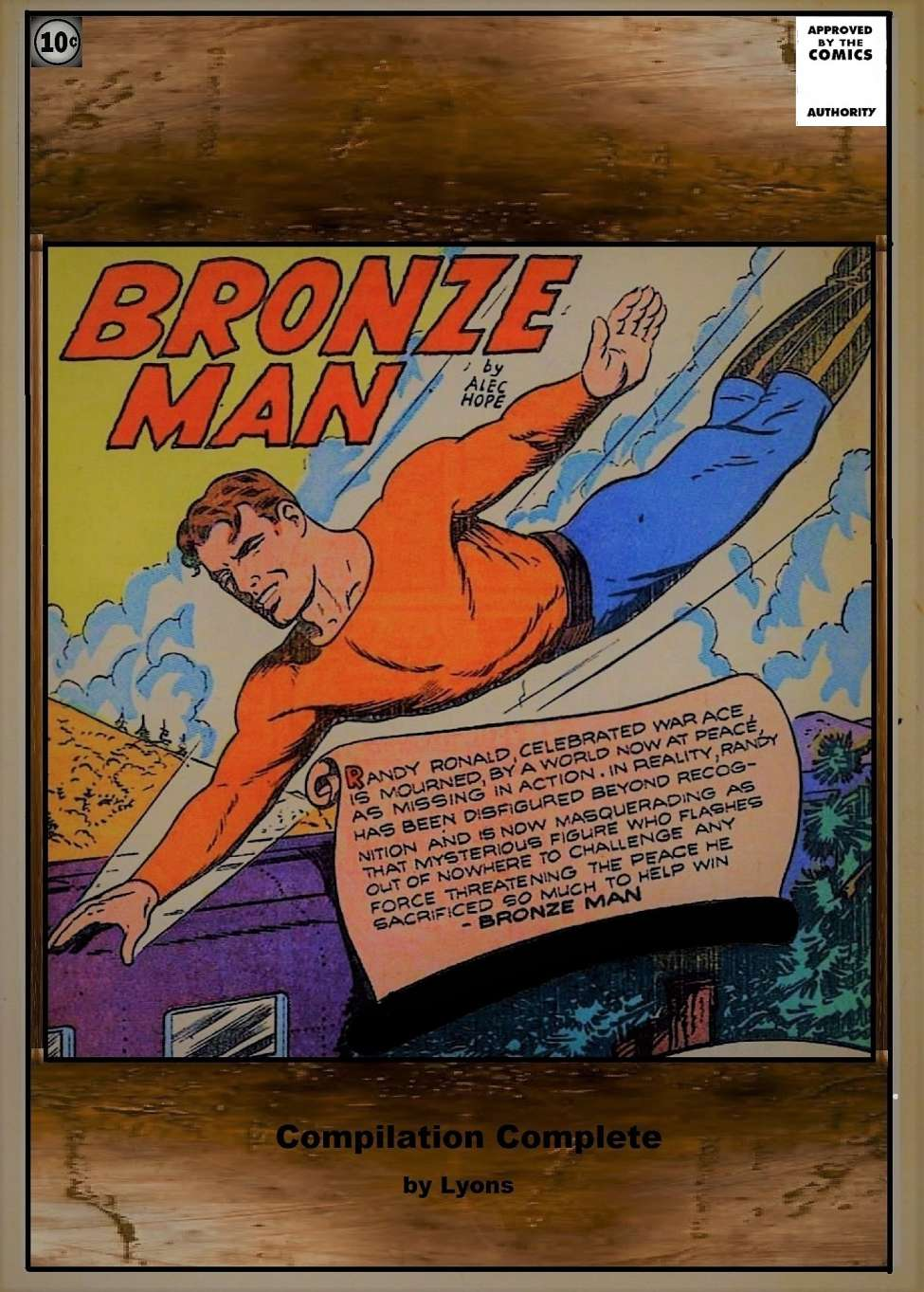 Comic Book Cover For Bronze Man