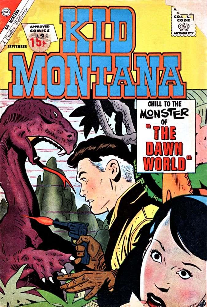 Comic Book Cover For Kid Montana #36