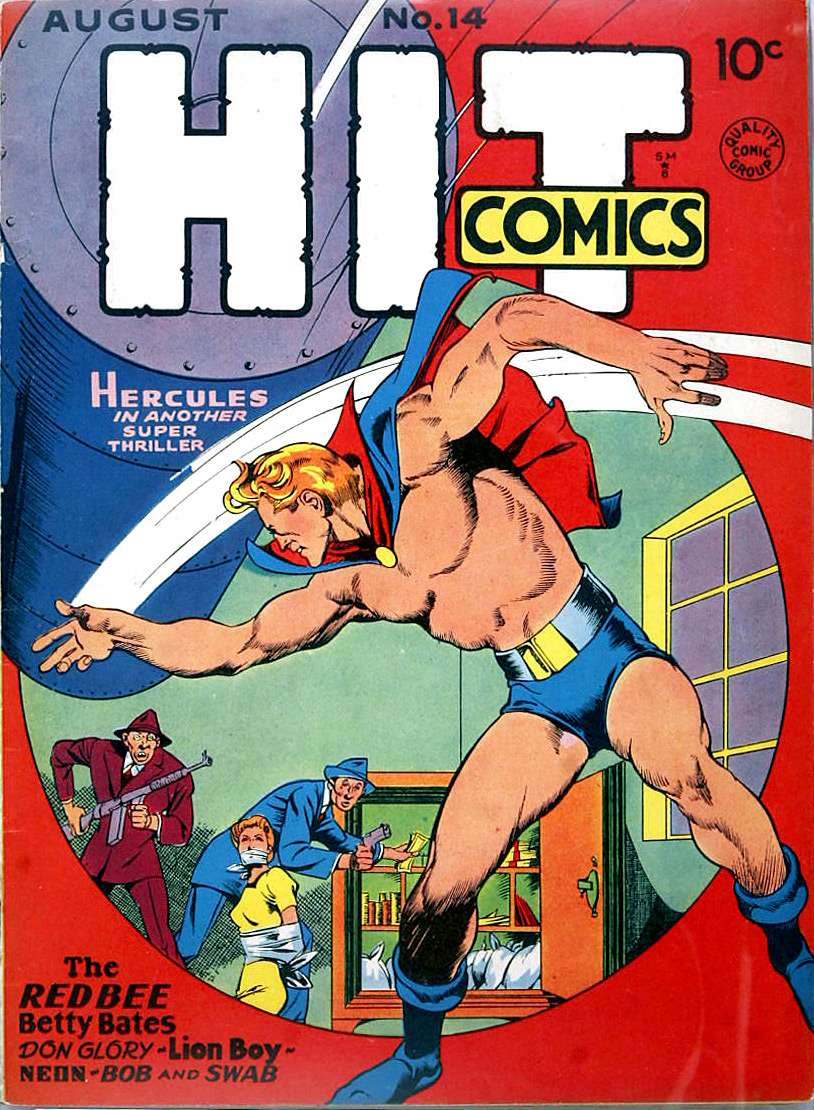 Comic Book Cover For Hit Comics #14