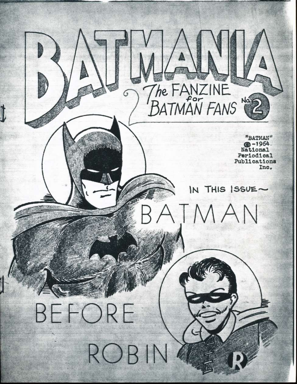 Comic Book Cover For Batmania 02
