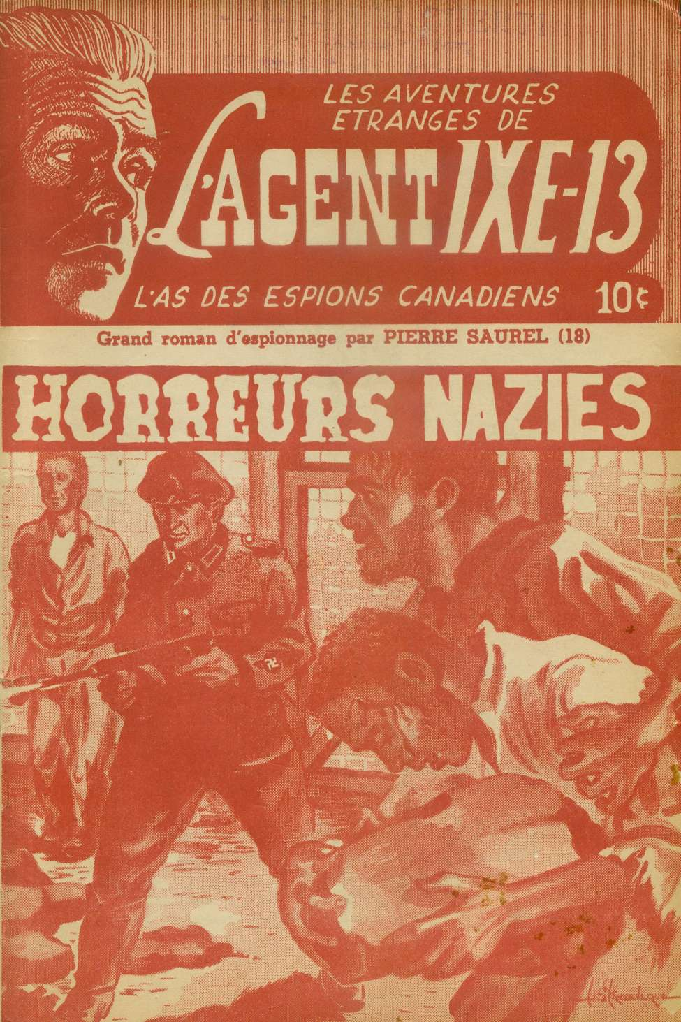 Comic Book Cover For L'Agent IXE-13 v2 018 - Horreurs nazies