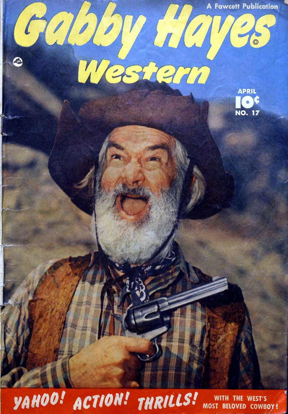 Gabby hayes western 17 fawcett comic book plus for Gabby hayes