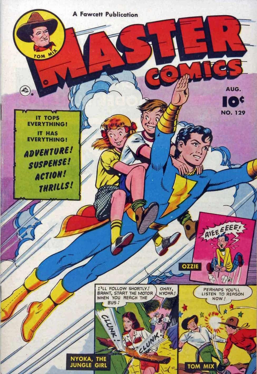 Comic Book Cover For Capt. Marvel Jnr Compilation Vol 21