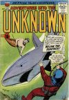 Cover For Adventures into the Unknown 121