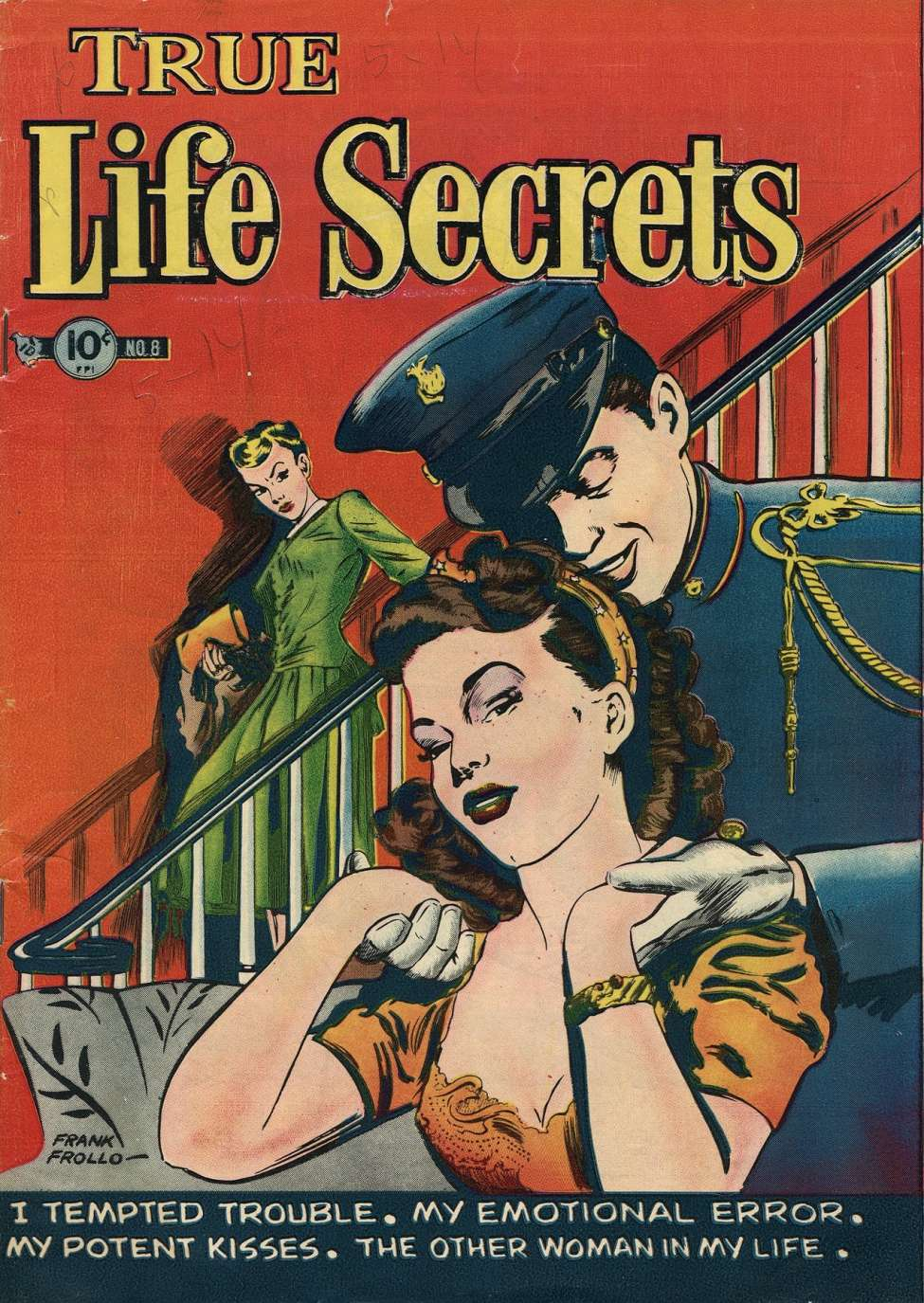 Comic Book Cover For True Life Secrets #8