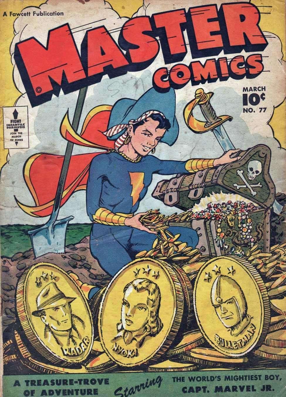 Comic Book Cover For Capt. Marvel Jnr Compilation Vol 11