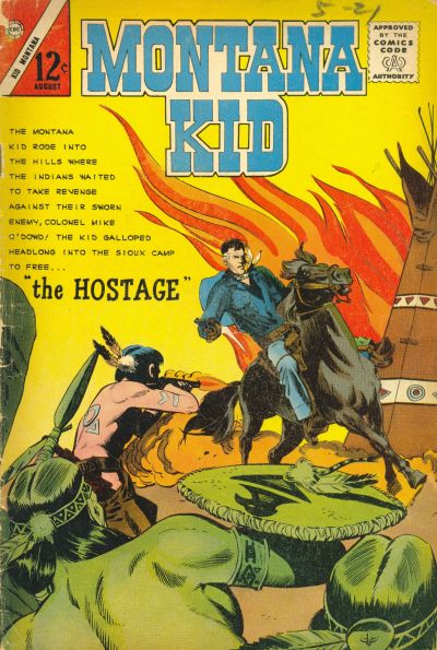 Comic Book Cover For Kid Montana #47
