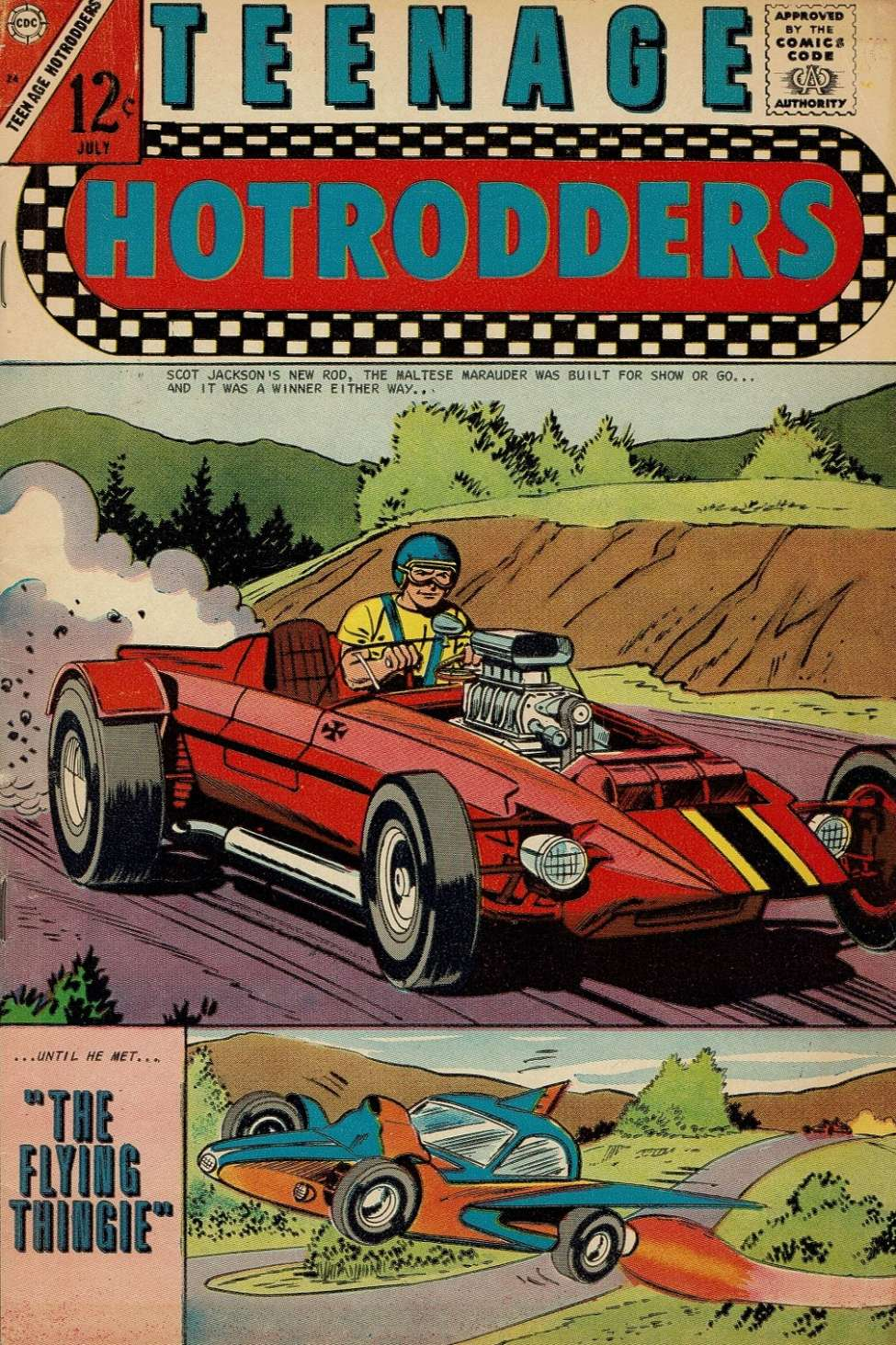 Teenage Hotrodders #24 (Charlton) - Comic Book Plus