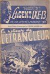 Cover For L'Agent IXE 13 v2 65 Le retour de l'étrangleur