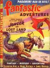 Cover For Fantastic Adventures v2 8 Jongor of Lost Land Robert Moore Williams