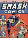 Cover For Smash Comics 34
