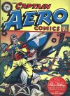 Cover For Captain Aero Comics 15