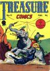 Cover For Treasure Comics 12