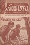 Cover For L'Agent IXE 13 v2 97 Mission suicide