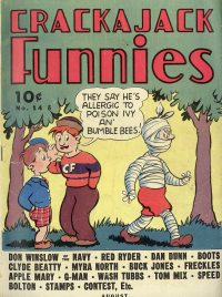 Large Thumbnail For Crackajack Funnies #14