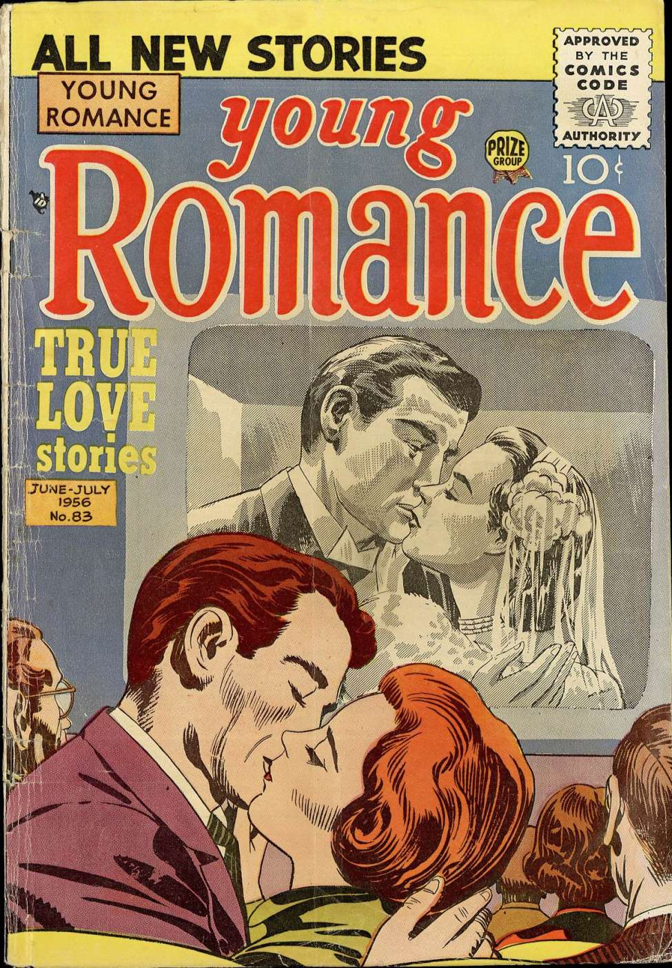 Comic Book Cover For Young Romance v9 5 (83)