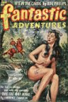 Cover For Fantastic Adventures v14 10 Is This the Way Home? Lawrence Chandler