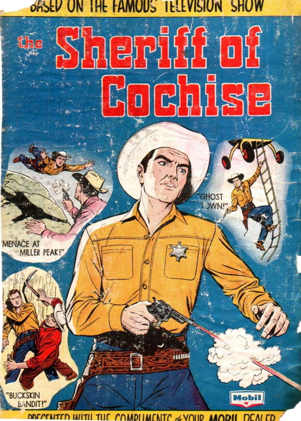 Comic Book Cover For The Sheriff of Cochise [nn]