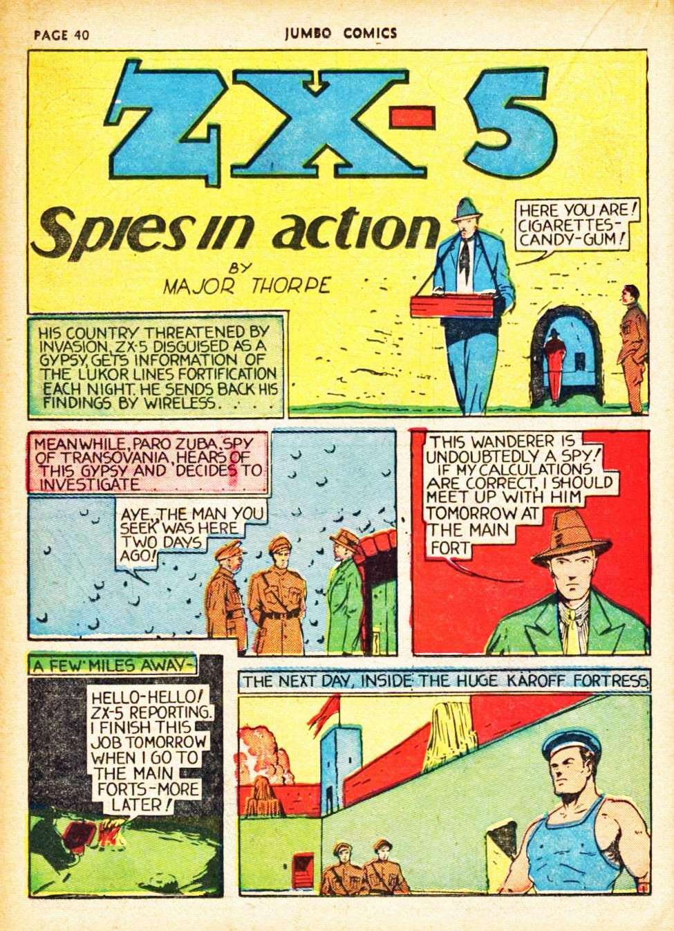 Comic Book Cover For ZX-5 Spies in Action Archive Vol 02