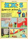 Cover For ZX-5 Spies in Action Archive Vol 2