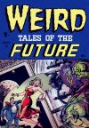Cover For Weird Tales of the Future 1