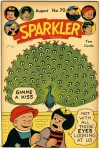 Cover For Sparkler Comics 70