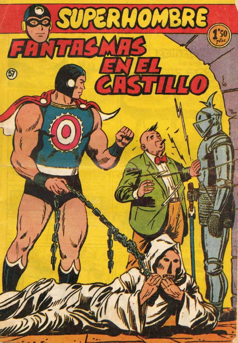Comic Book Cover For SuperHombre 57 Fantasmas en el castillo