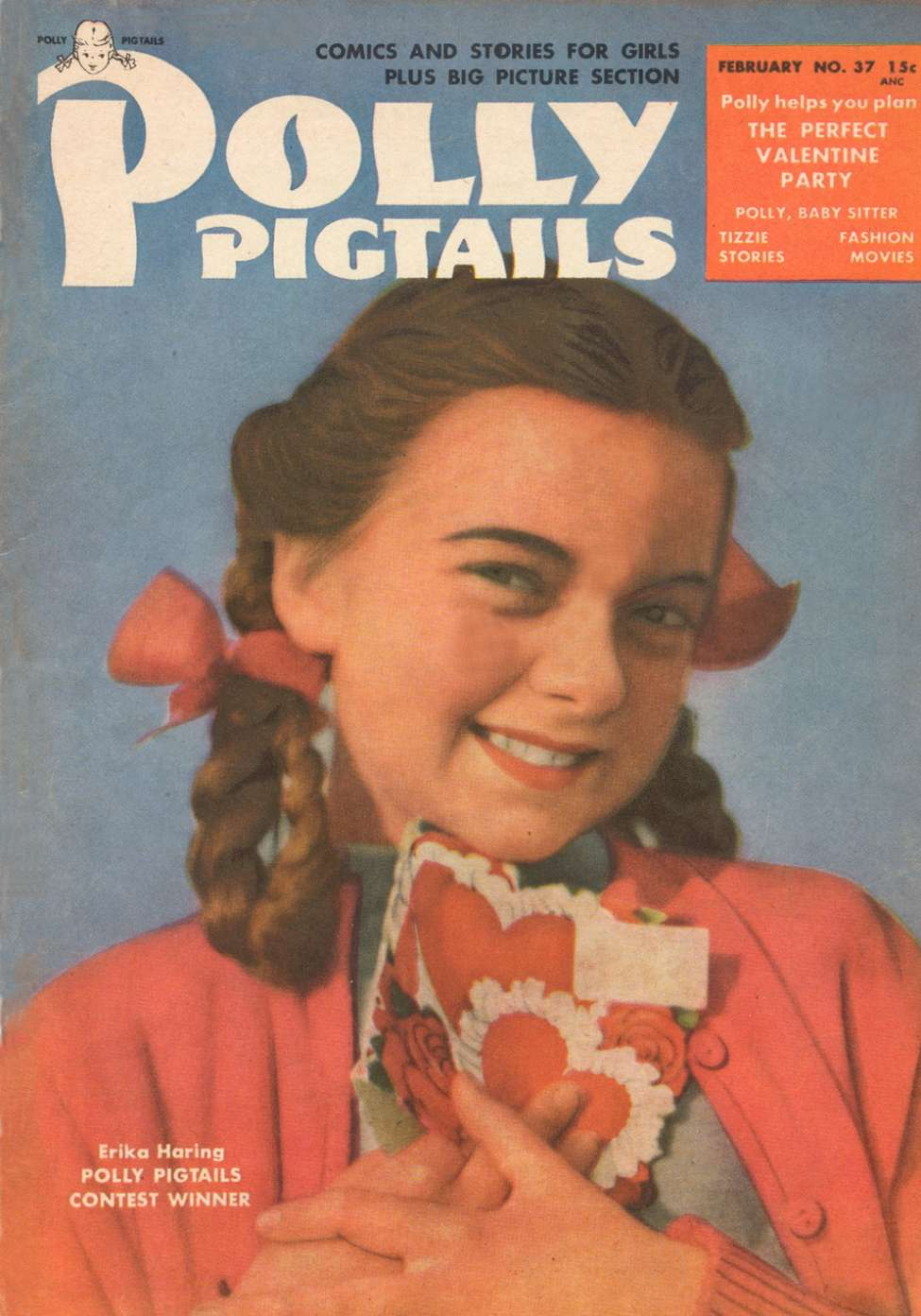 Comic Book Cover For Polly Pigtails #37