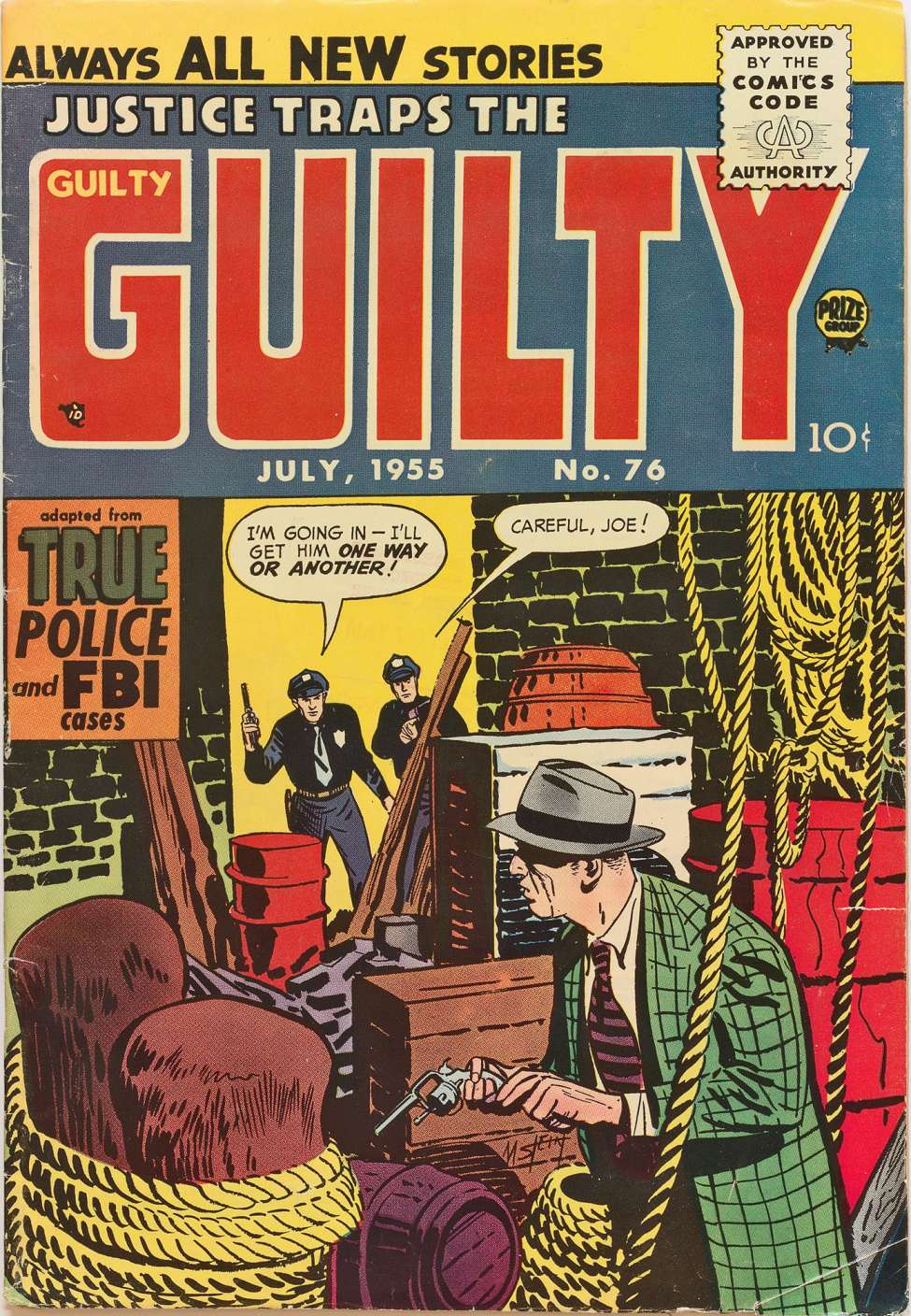 Comic Book Cover For Justice Traps the Guilty v8 10 (76)