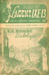 Cover For L'Agent IXE 13 v2 132 La bombe diabolique