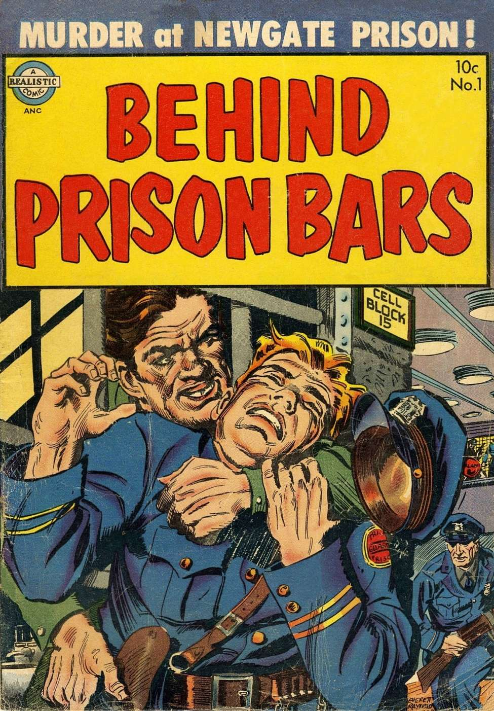 Comic Book Cover For Behind Prison Bars #1